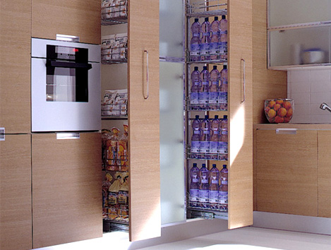 Cucine Moderne Con Dispensa. Simple Armadio Cucina Moderna With ...