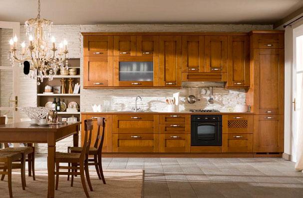 Cucina modello ca 39 d 39 oro veneta cucine for Offerte cucine lineari