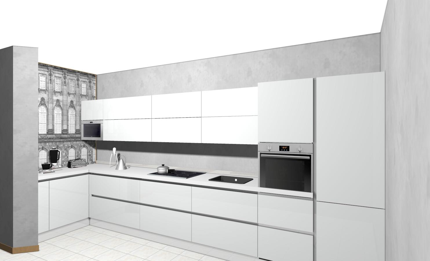 cucina e living veneta cucine - Soggiorno Veneta Cucine